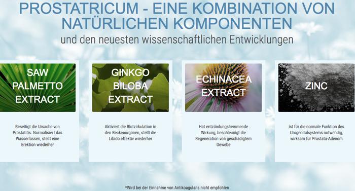 Prostatricum ingredients