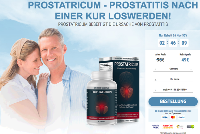buy prostatricum