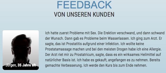 prostatricum review