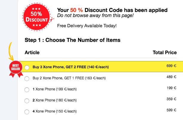 Buy xone phone germany