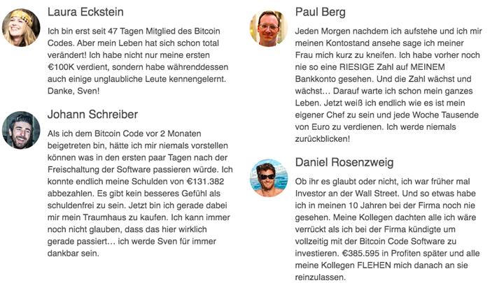 Bitcoins code Rezensieren