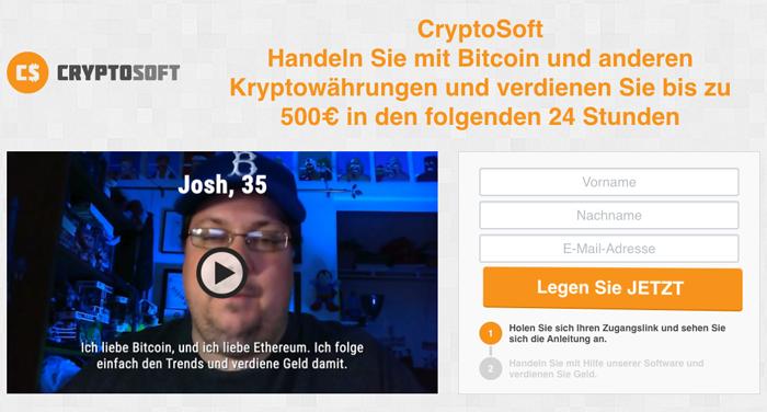 Cryptosoft Startseite