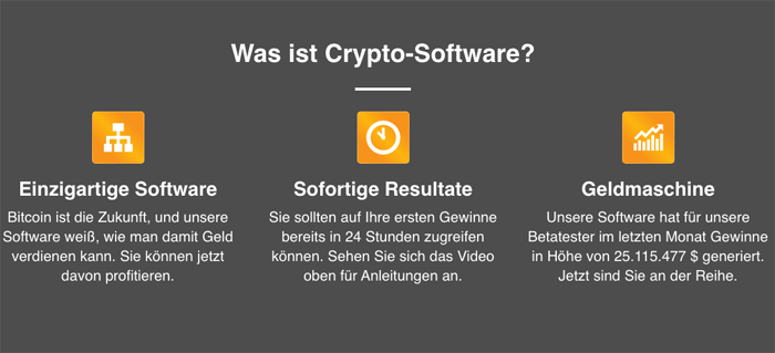 Cryptosoft software