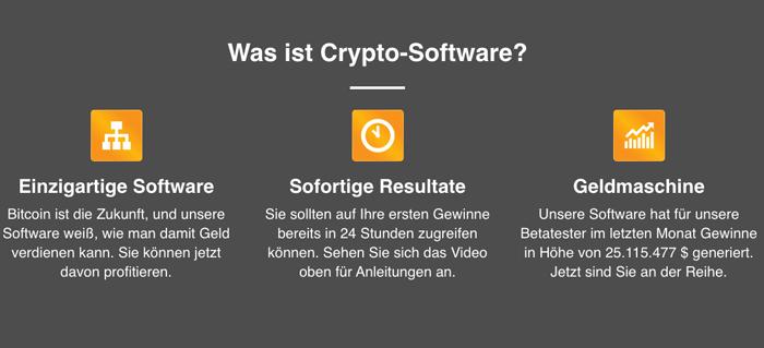 Cryptosoft software