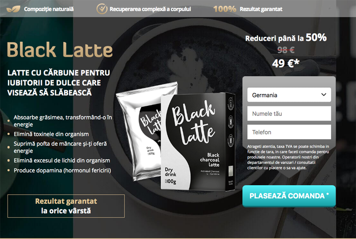 buy black latte