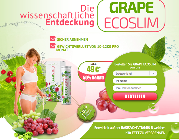 kaufen Grape Ecoslim