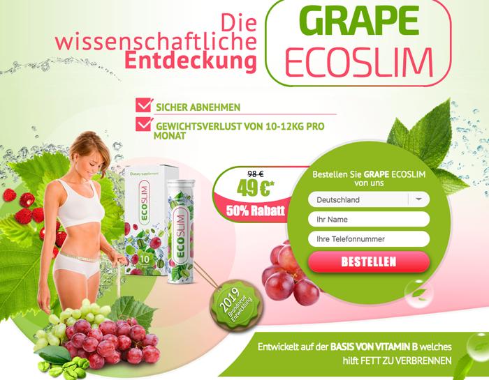 kaufen Grape Ecoslim